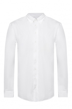 Shirt with snap collar od Giorgio Armani
